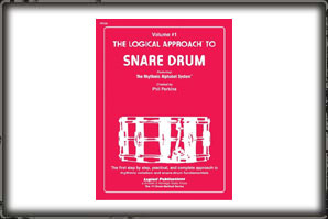 LOGICAL APPROACH TO SNARE DRUM (BOOK) VOLUMN # 1 / PHIL PERKINS