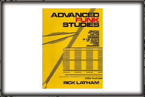 ADVANCED FUNK STUDIES (BOOK AND CD) / RICK LATHAM