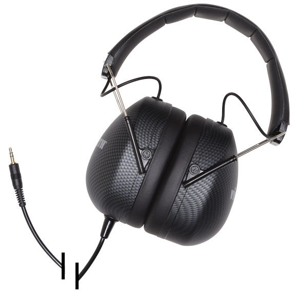 VIC FIRTH POWERED STEREO ISOLATION HEADPHONES